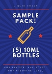 Sample Pack (5) 10ml Bottles