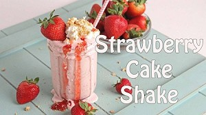 Strawberry Cake Shake Premium E-Liquid