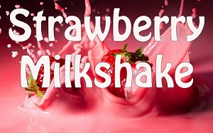 Strawberry Milkshake Premium E-Liquid